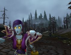 fitting backdrop for a fishface #selfie #Warcraft