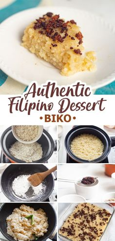 Biko is an authentic Filipino dessert made of sticky rice, coconut milk and sugar. This is an easy to make, sweet and delicious go-to dessert! :)