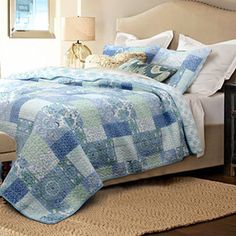 Shop for Windfall Cotton 3-piece Quilt Set. Get free shipping at Overstock.com - Your Online Fashion Bedding Outlet Store! Get 5% in rewards with Club O!