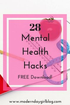 Ready to hack your mental health and get control? Here are some great tips to hack your mental health and start living again + FREE download.