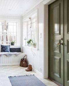 Interior Design Images, Swedish Design, Cozy Cottage, Scandinavian Home, Hallway Flooring, My Dream Home, Living Area, Sweet Home, Villa