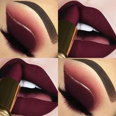 trending lipstick purple shades 2020 for 39 39 Trending Purple Lipstick Shades For can find Prom makeup looks and more on our website Lipstick Shades, Lipstick Colors, Lip Colors, Purple Lipstick Makeup, Maroon Lipstick, Make Up Kits, Gorgeous Makeup, Pretty Makeup, Skin Makeup