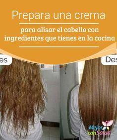 Prepara una crema para alisar el cabello con ingredientes que tienes en la cocina  Tener un cabello liso y brillante ha sido desde siempre una tendencia de belleza femenina; aunque las ondas y los rizos dan un look muy especial,