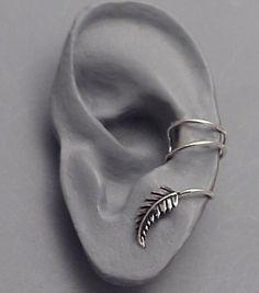 Libra esterlina hoja manguito del oído: Nueva por SunnySkiesStudio