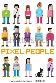 Pixel stockfoton & bilder | Shutterstock