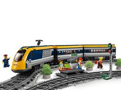 Passenger Train 60197 | City | Buy online at the Official LEGO® Shop CA Lego Boxes, Lego Builder, Lego System, Halloween Toys, Lego Store, Lego Trains, Train Service, Electrical Tape, Open Window