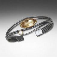 citrine edge bracelet - Suzanne Q Evon