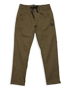 Munsterkids Little Boy's & Boy's Solid Drawstring Pants