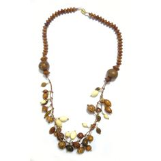 Wooden Necklaces | Exotic Wooden Bead Necklace Kit
