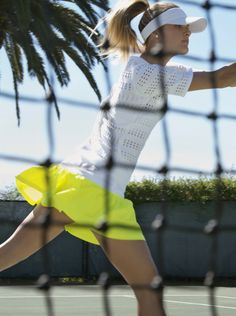 Like the through-the-net look tennis теннис, спорт, модели. Tennis Fashion, Sport Fashion, Fitness Fashion, Fashion Fashion, Lifestyle Fashion, Fashion Trends, Tennis Photography, Fashion Photography, Tennis Rules