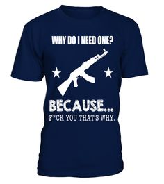 "# Funny Why Do I Need A Gun 2nd Amendment Novelty T-shirt .  Special Offer, not available in shops      Comes in a variety of styles and colours      Buy yours now before it is too late!      Secured payment via Visa / Mastercard / Amex / PayPal      How to place an order            Choose the model from the drop-down menu      Click on ""Buy it now""      Choose the size and the quantity      Add your delivery address and bank details      And that's it!      Tags: Celebrate 4th of July…"