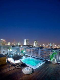#Jacuzzi On Rooftop, Lovely View Jacuzzi Im Freien, Whirlpool Im Freien,  Terrassen