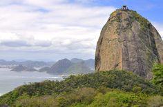 Pão de Açúcar de um ângulo diferente. Rio de Janeiro. Brazil.