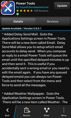 "Power Tools from Toysoft Development updated - Now has the ability to ""Delay Send Emails"" - http://blackberryempire.com/power-tools-from-toysoft-development-updated-now-has-the-ability-to-delay-send-emails/ #BlackBerry #Smartphones #Tech"