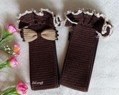 Handle Cover Crochet Handmade Louis LV SPEEDY 25 3035 ALMAbb GORGEOUS Dark Brown #handmadeDJCRAFT