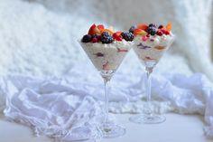 20 poharas desszert, amit imádni fog - Dívány Martini, Tiramisu, Panna Cotta, Paleo, Pudding, Ethnic Recipes, Tableware, Food, Dulce De Leche
