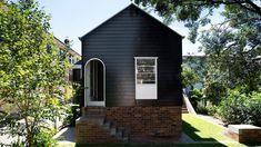 Durham House - The Design Files Bungalow Renovation, Dark House, Gravity Home, Australian Architecture, Queenslander, Dream House Exterior, Holiday Accommodation, The Design Files, Facade Architecture