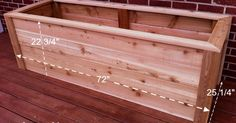 I am building cedar planter boxes for my deck to create an elevated kitchen garden. You can build one too with a few easy steps! First let's take a look at the…