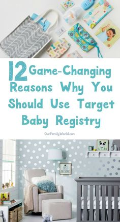 Why should you use the Target Baby Registry for your baby shower? Check out 12 game-changing reasons why it's the only registry you need! #ad