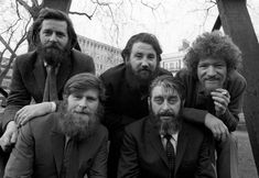 "These are ""The Dubliners,"" an Irish band, who wrote the war song ""Whiskey in a Jar"" as well as ""The Night Visiting Song."" Another popular band from Ireland is ""The Fureys,"" who wrote ""The Red Rose Cafe"" and the anti-war song ""The Green Fields of France. Music Is Life, My Music, Music Stuff, Dolores O'riordan, Irish Rock, Teen Party Games, The Ed Sullivan Show, Popular Bands, Celtic Music"