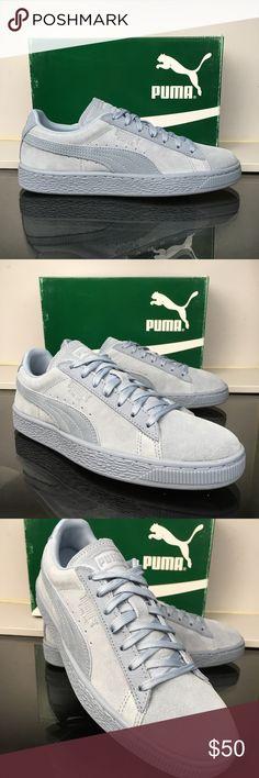 c5496b944878c6 Puma Blue Fog Suede Classic Tonal Jr Brand new and with the original box  Add 1.5