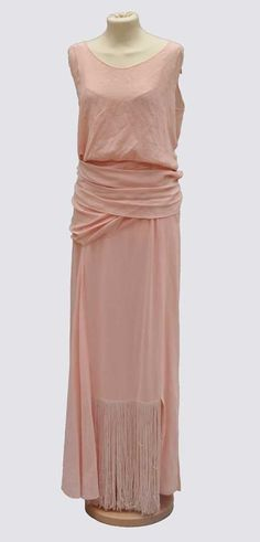 Evening dress by Worth, 1930s
