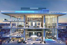 Miami Beach Penthouse-designrulz