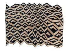 The Sridi: these wool and silk rugs are handmade in Nepal from patterns drawn by French design Florian Pretet.