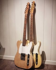 "twanglife: ""A Fender Esquire and Fender Telecaster. I just like staring at this. Fender Stratocaster, Fender Guitars, Guitar Shop, Music Guitar, Acoustic Guitar, Guitar Pins, Playing Guitar, Ukulele, Elvis Presley"
