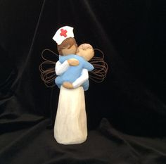 Nurse RN Gift  Nurse Holding Baby  Pediatric by MusicLadyGifts Rn Nurse, Nurse Life, Nurse Humor, Baby Nurse, Hospice Nurse, Nurse Stuff, Ob Nursing, Nursing Career, Nursing Major
