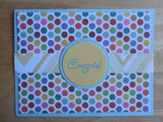 Congratulations Card - Congrats - Handmade Greeting Card