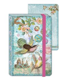Take a look at this Hummingbird Wishes Enchantment Mini Journal - Set of Two by Punch Studio on #zulily today!