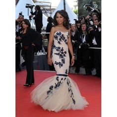 On Sale Popular Red Mermaid Dresses Kerry Washington Embroidered Mermaid Evening Gown 2009 Cannes Film Festival Red Carpet Pretty Dresses, Beautiful Dresses, Gorgeous Dress, Red Mermaid Dress, Mermaid Style, Celebrity Prom Dresses, Jessica Parker, Strapless Dress Formal, Formal Dresses