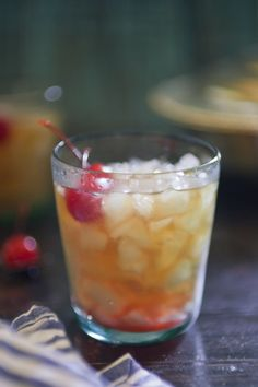 the h.g. wells | 4 ounces (120 ml) high proof bourbon  1 1/2 ounce (45 ml) dry vermouth  1  ounce (30 ml) Pastis or Richards (or another anise flavored liqueur)  4 dashes bitters    Maraschino cherry, for garnish