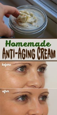 Next time you're at a beauty shop, remind yourself that you don't need that expensive anti-aging cream because you can make your own cream at home.