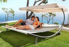 Relaxační lehátko pro dvě osoby Craftfield Bahama
