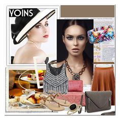 """yoins 40"" by ajsajunuzovic ❤ liked on Polyvore featuring moda, Chanel, Cuero, abcDNA, Blue Nile, women's clothing, women, female, woman e misses"