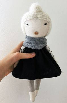Petite Anna Doll by lespetitemainss on Etsy