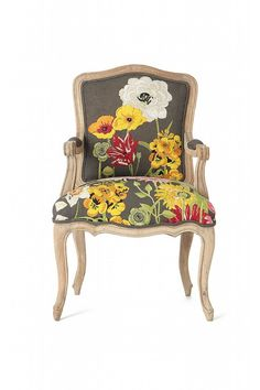 Pretty upholstered chair!