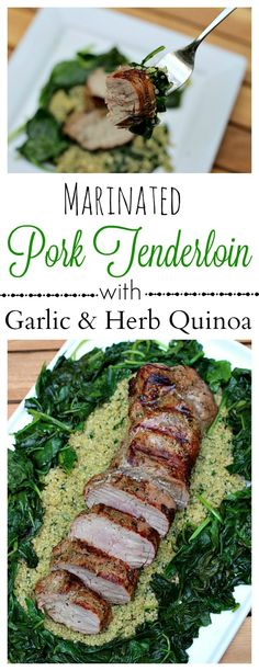 Marinated Pork Tende