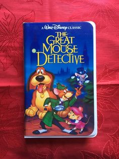 Rare Collectible Disney VHS 1992 Black Diamond The Great Mouse Detective | eBay