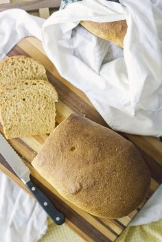 Honey Whole Wheat Bread (Natural Yeast/Sourdough) - simple life by kels