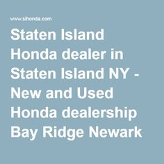 Honda Dealers Nj >> 10 Best Honda Dealers Images Honda Dealership 2nd Hand Cars Used