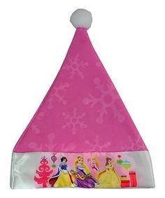 Disney Princess Satin-Cuff Felt Santa Hat