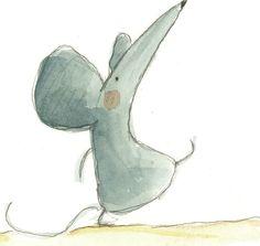 Les souris d'Irisz Agocs #mouse #illustration
