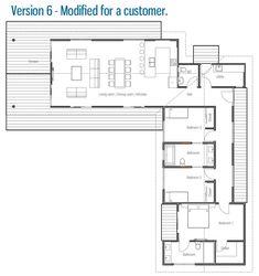 Denah Rumah 380694974743585122 - house design 50 Source by Modern Bungalow House, Bungalow House Plans, New House Plans, Dream House Plans, Modern House Plans, Small House Plans, House Floor Plans, House Layout Plans, House Layouts