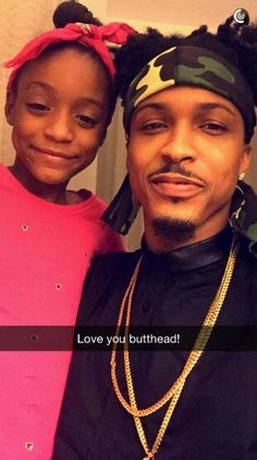 August and his adorable niece
