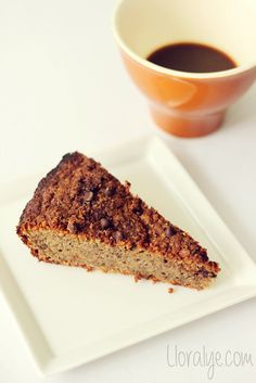 Banana Coffee Cake #glutenfree