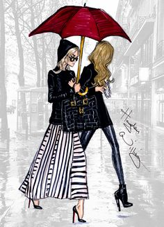 "haydenwilliamsillustrations: "" 'The Olsen's in Paris' by Hayden Williams """