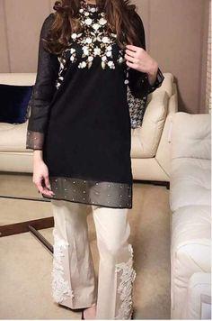 Ghanu 🖤 Pakistani Formal Dresses, Pakistani Fashion Casual, Pakistani Wedding Outfits, Pakistani Dress Design, Indian Dresses, Indian Outfits, Stylish Dress Designs, Designs For Dresses, Stylish Dresses